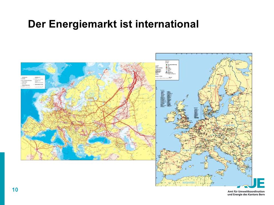 Der Energiemarkt ist international