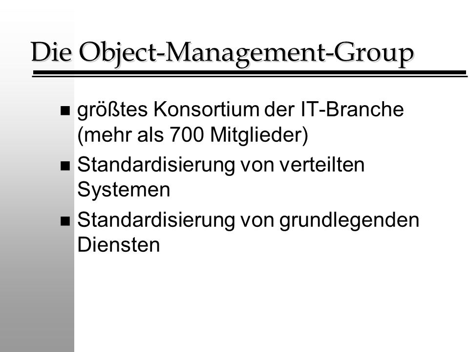 Die Object-Management-Group