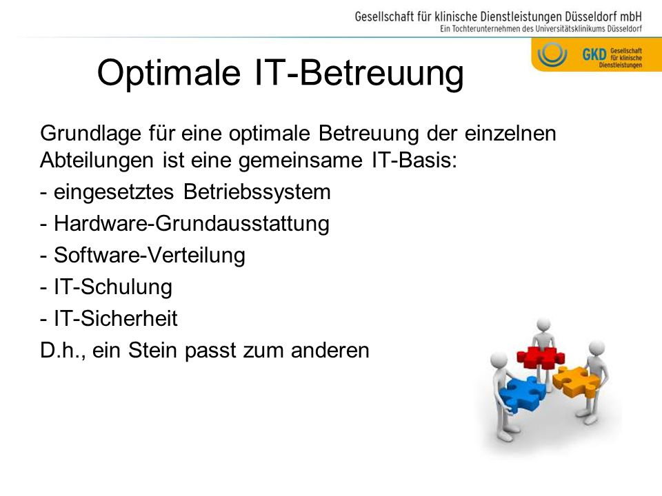 Optimale IT-Betreuung
