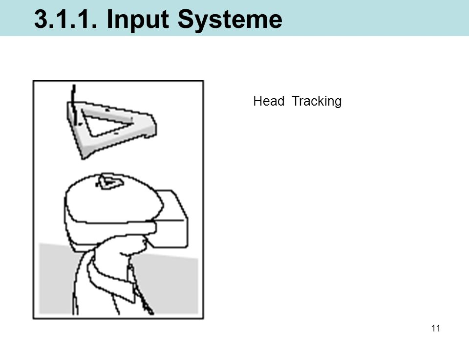 3.1.1. Input Systeme Head Tracking