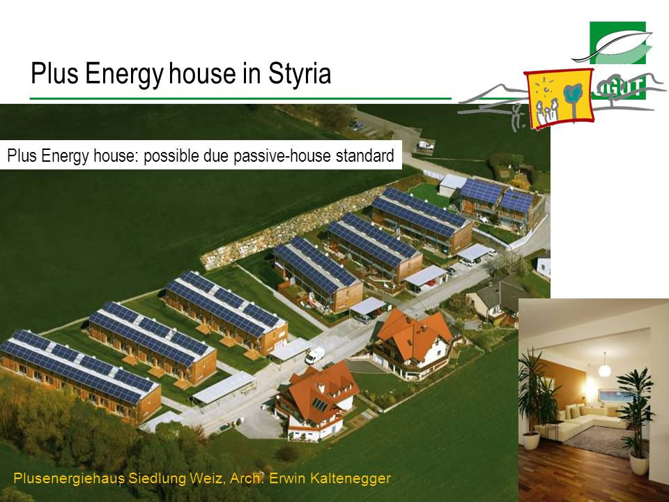 Plus Energy house in Styria