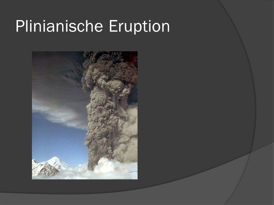 Plinianische Eruption