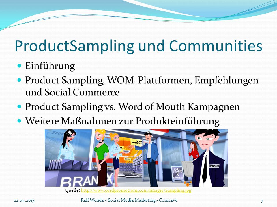 ProductSampling und Communities