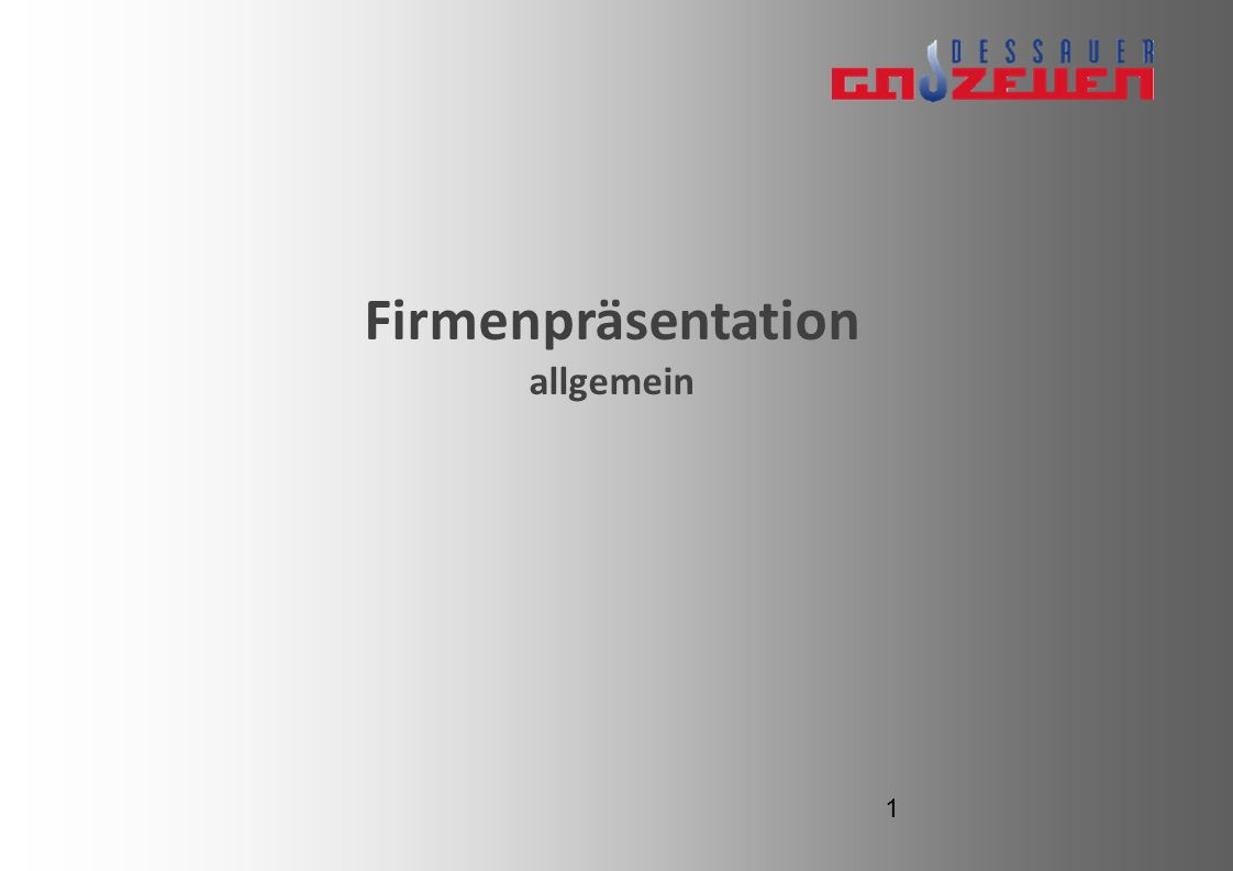 1 firmenprsentation allgemein 1 - Firmenprasentation Muster
