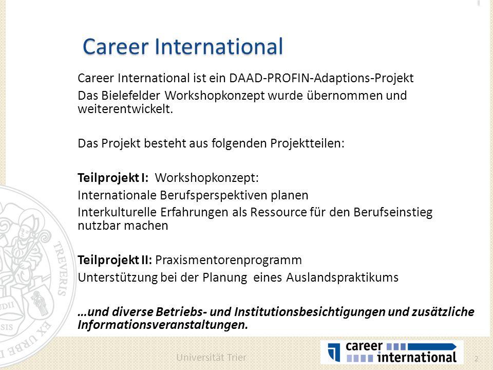 Internationale Berufsperspektiven planen - ppt herunterladen