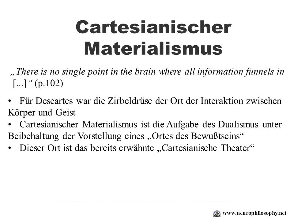 Cartesianischer Materialismus