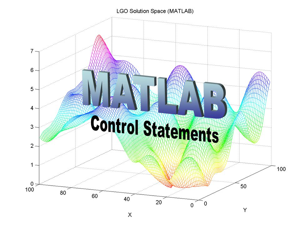 MATLAB Control Statements
