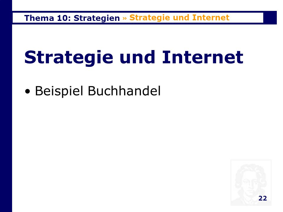 Strategie und Internet