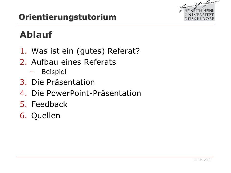 beispiel die prsentation die powerpoint prsentation feedback quellen ablauf was ist ein gutes referat aufbau eines referats - Gute Powerpoint Prsentation Beispiel