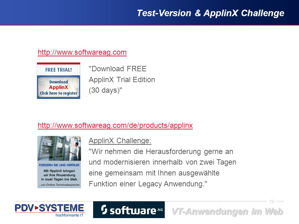 Test-Version & ApplinX Challenge