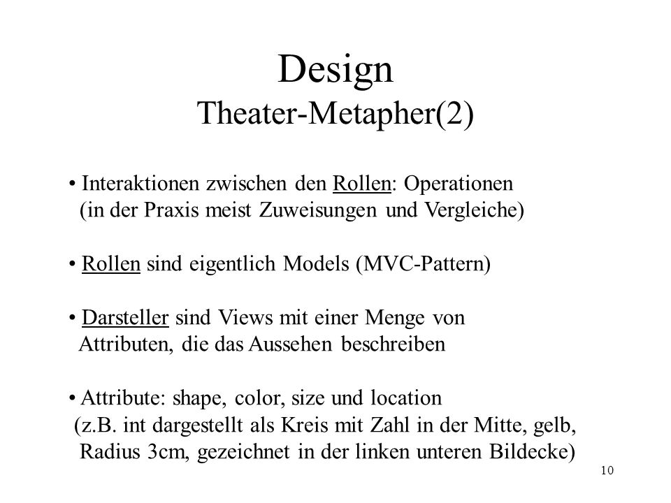 Design Theater-Metapher(2)