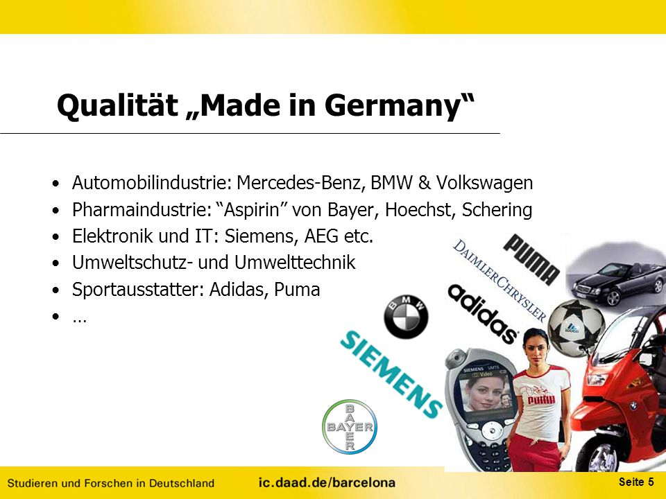 "Qualität ""Made in Germany"
