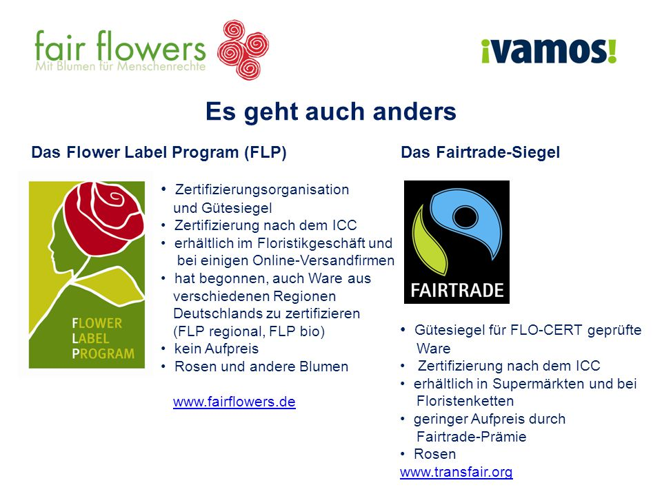 Das Flower Label Program (FLP)