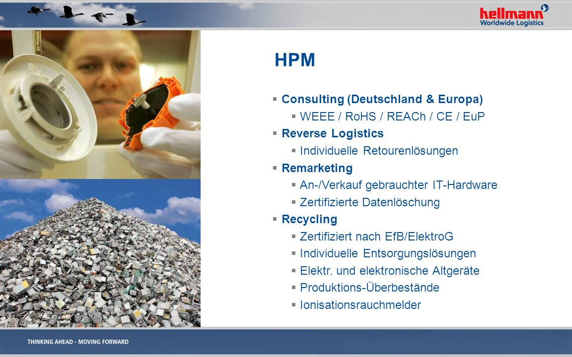 HPM Consulting (Deutschland & Europa) WEEE / RoHS / REACh / CE / EuP
