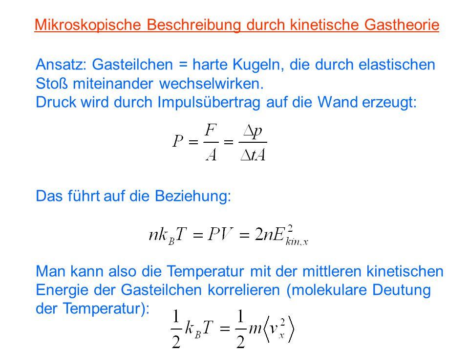 Kapitel 5: Wärmelehre 5.2 Ideale Gase. - ppt herunterladen