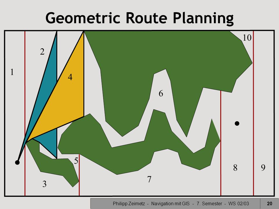 Geometric Route Planning