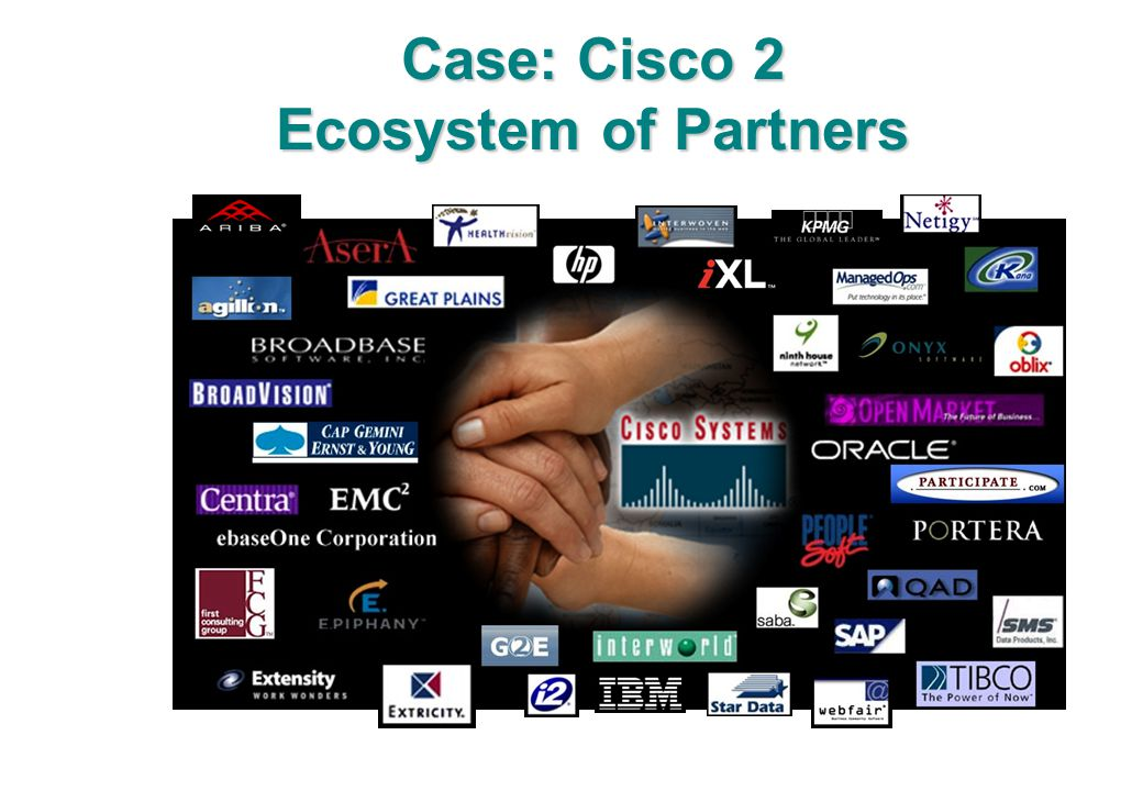 Case: Cisco 2 Ecosystem of Partners