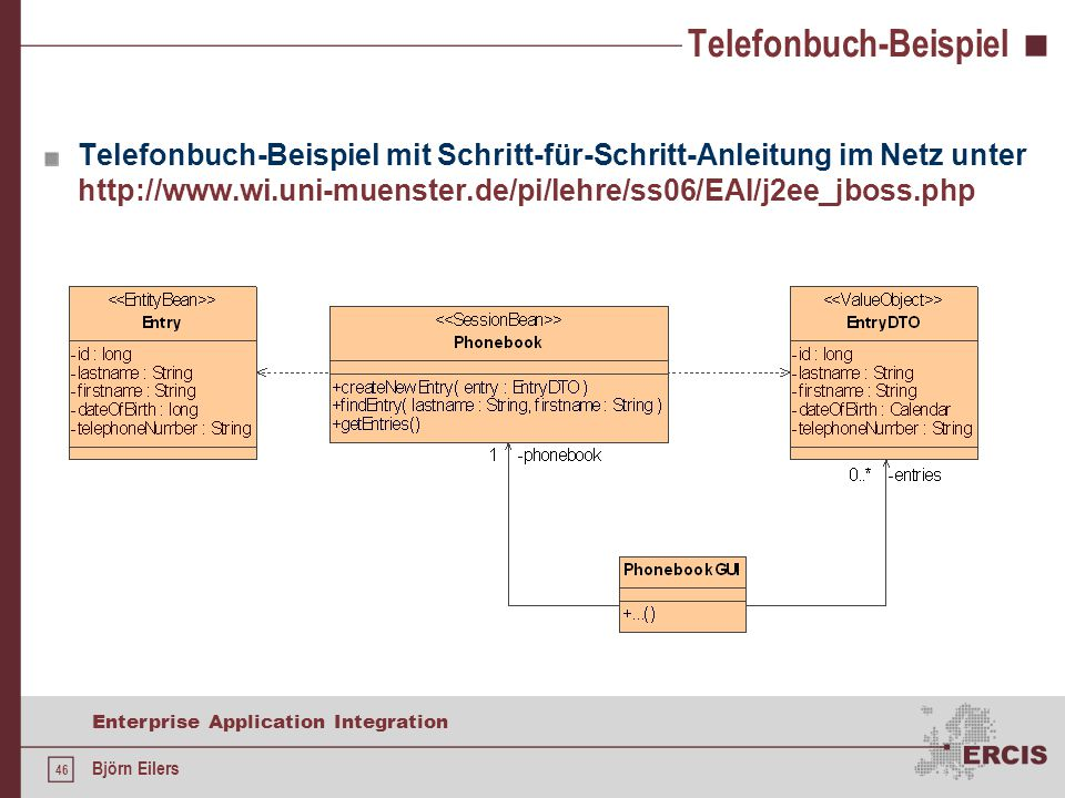 Enterprise Application Integration - ppt herunterladen