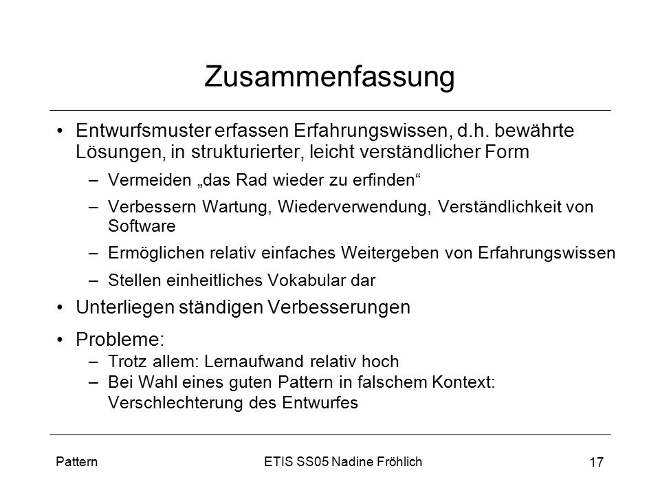 Entwurfsmuster Design Pattern Ppt Video Online Herunterladen
