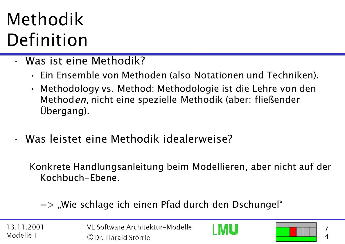 Methodik Definition Was ist eine Methodik