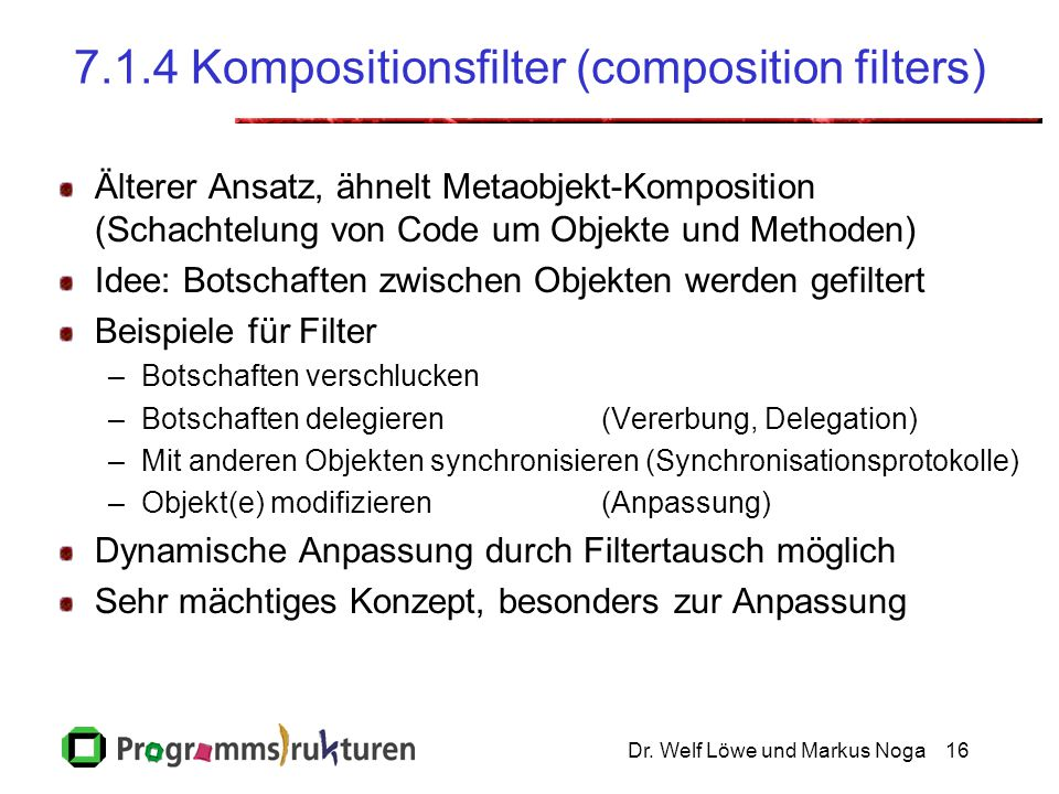 7.1.4 Kompositionsfilter (composition filters)