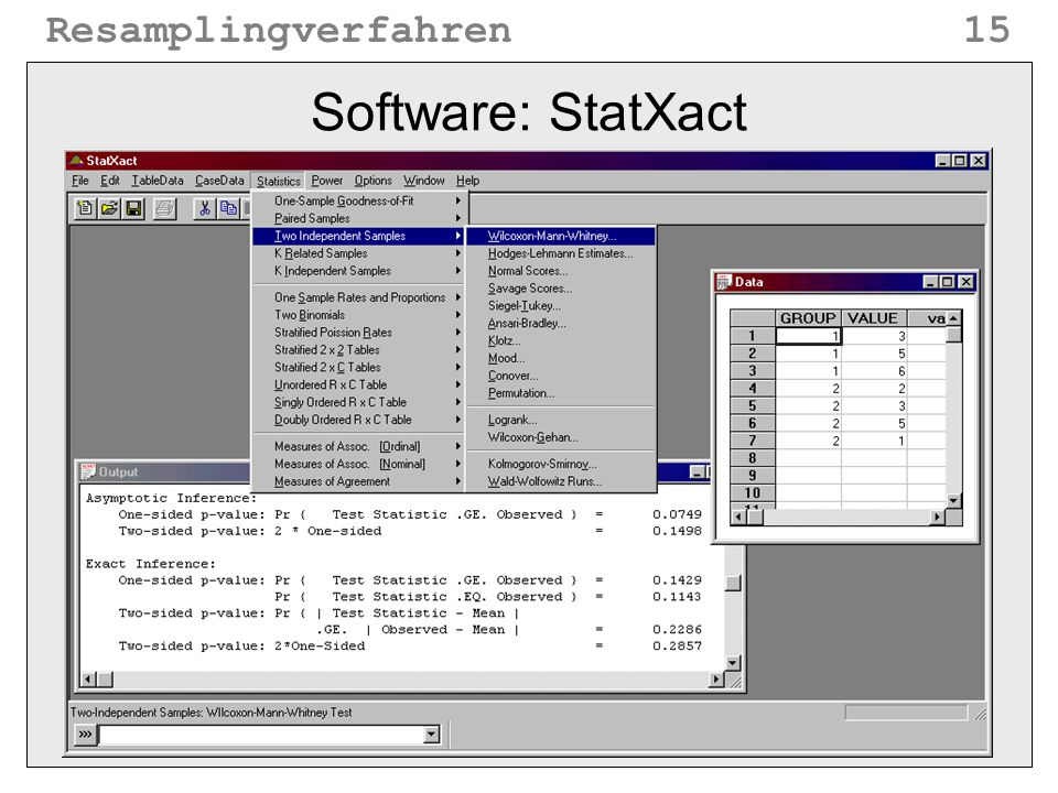 Software: StatXact