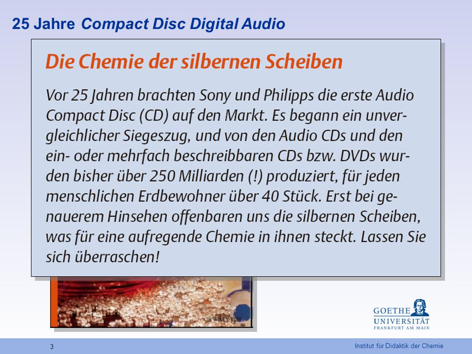 25 Jahre Compact Disc Digital Audio