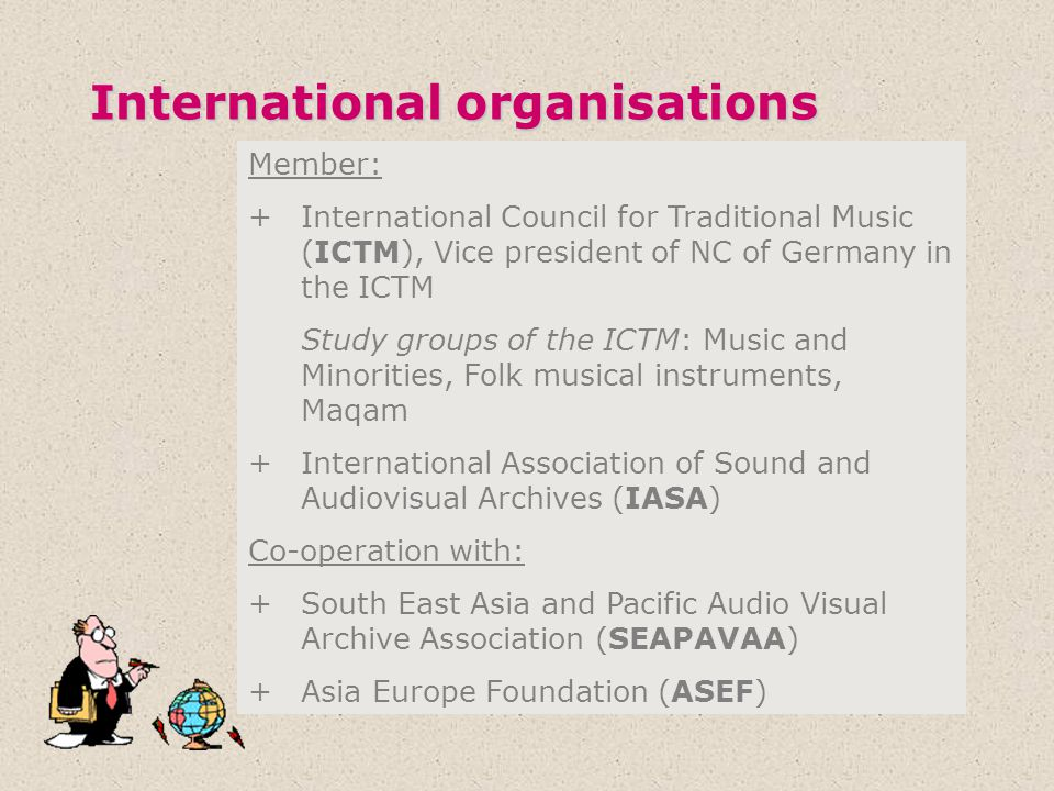 International organisations