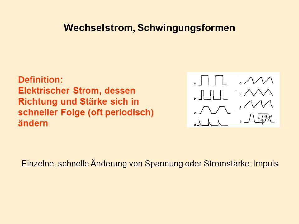 Elektrik II: Wechselstrom, Schwingungen u. Wellen - ppt herunterladen