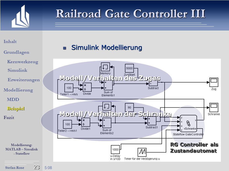 Railroad Gate Controller III