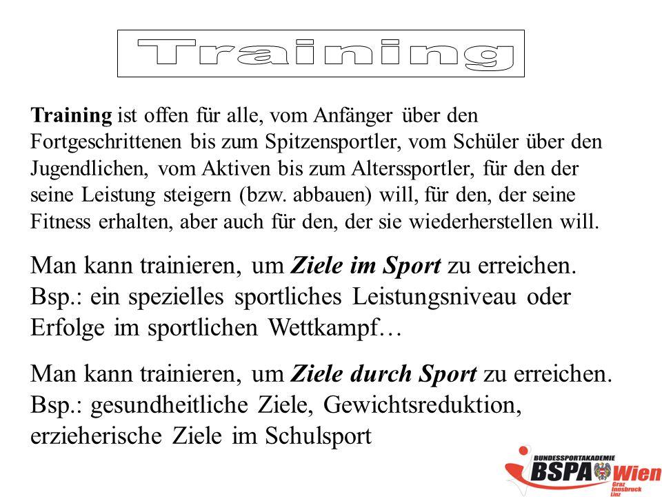 Allgemeine TRAININGSLEHRE - ppt herunterladen