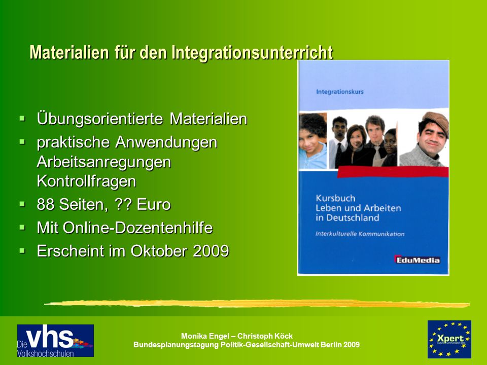Materialien für den Integrationsunterricht