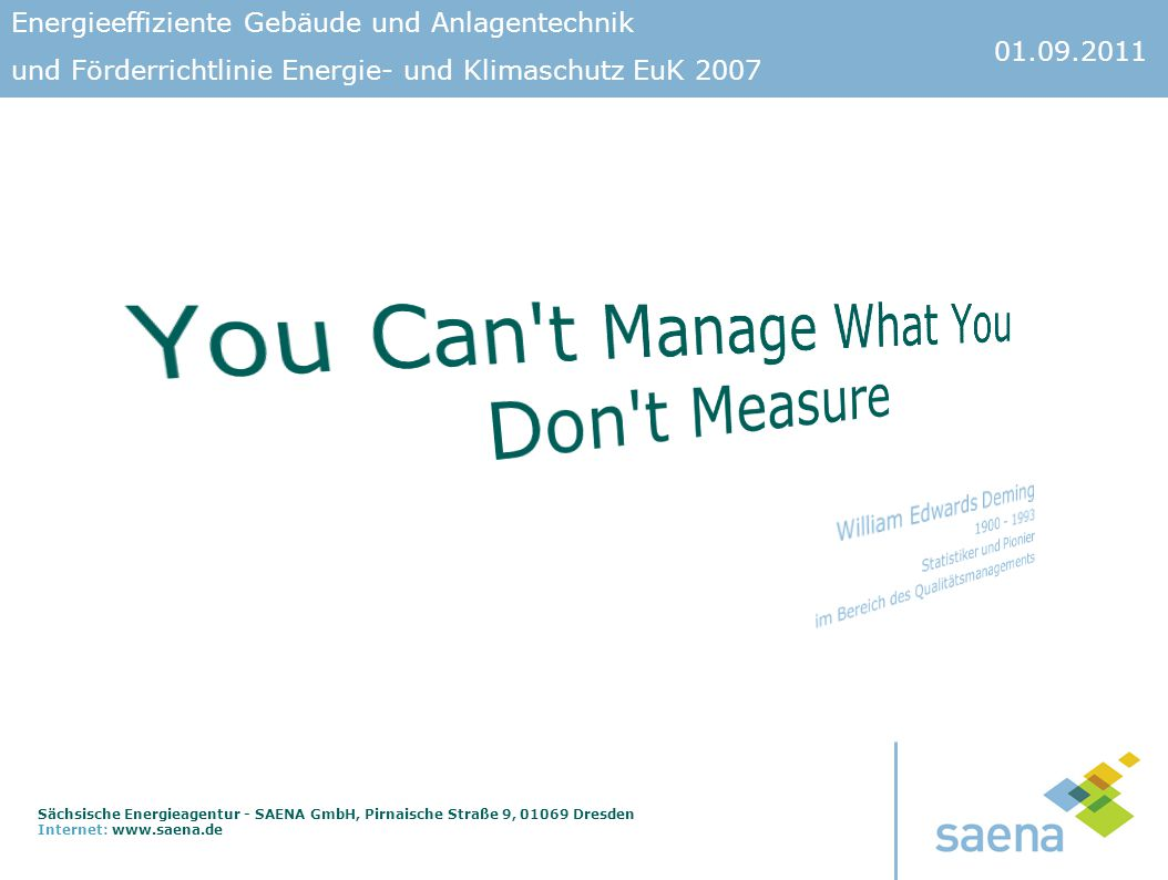 You Can t Manage What You Don t Measure