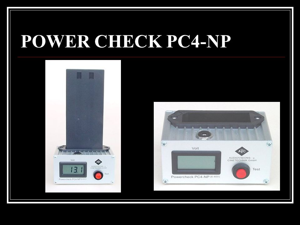 POWER CHECK PC4-NP