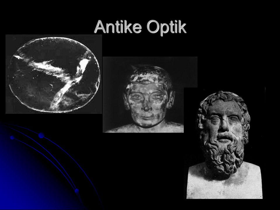 Antike Optik