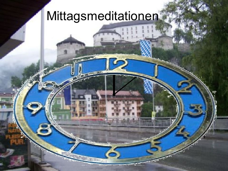 Mittagsmeditationen