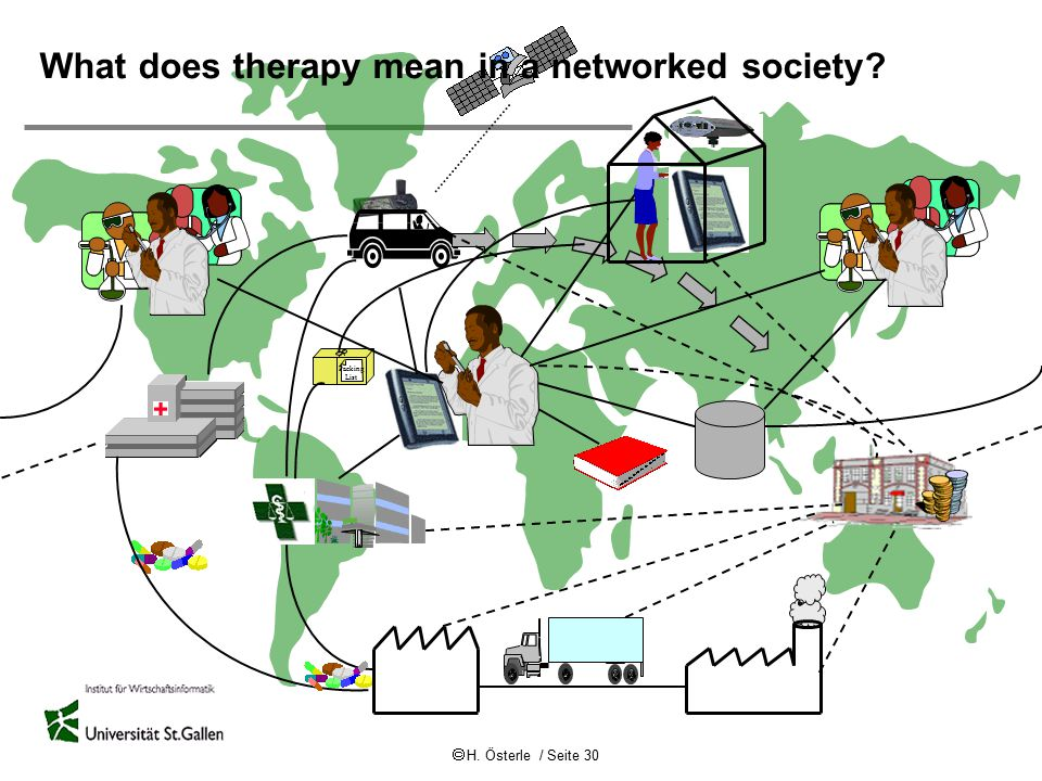 What does therapy mean in a networked society