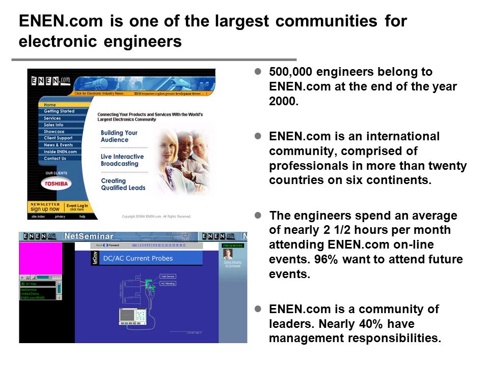 ENEN.com is one of the largest communities for electronic engineers