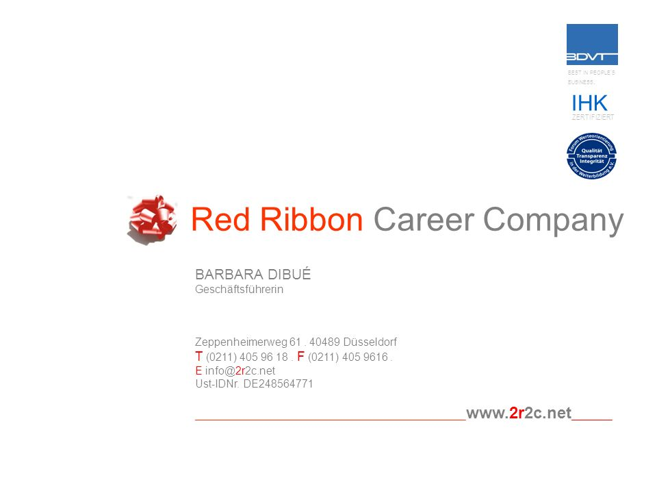Red Ribbon Career Company