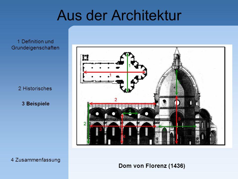 Herzlich willkommen der goldene schnitt vortragsthema - Goldener schnitt in der architektur ...
