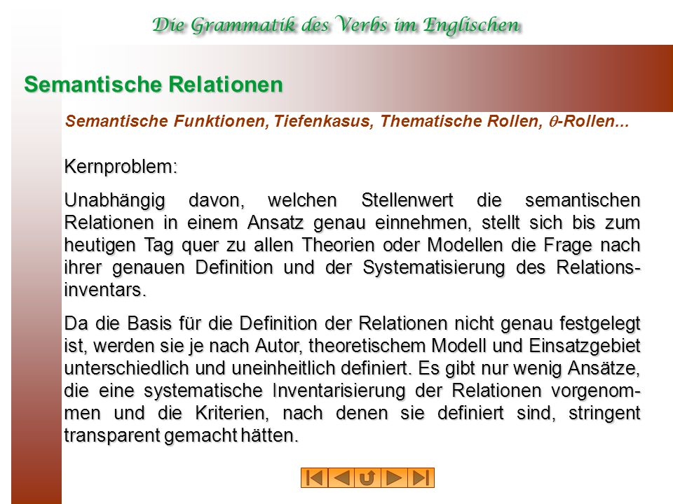 Semantische Relationen