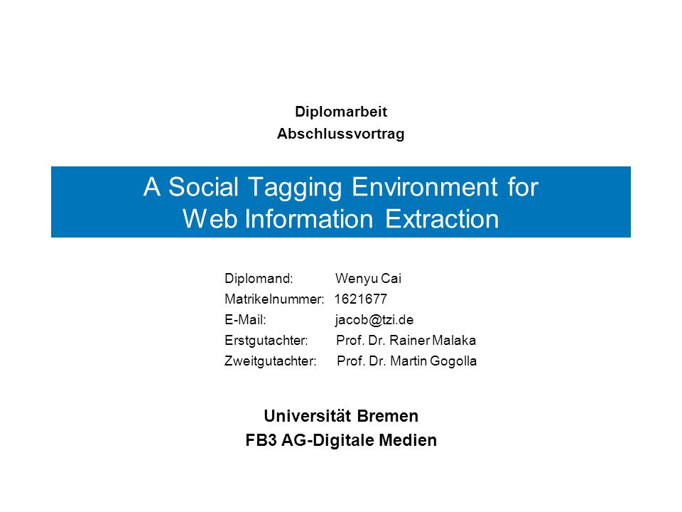 A Social Tagging Environment for Web Information Extraction