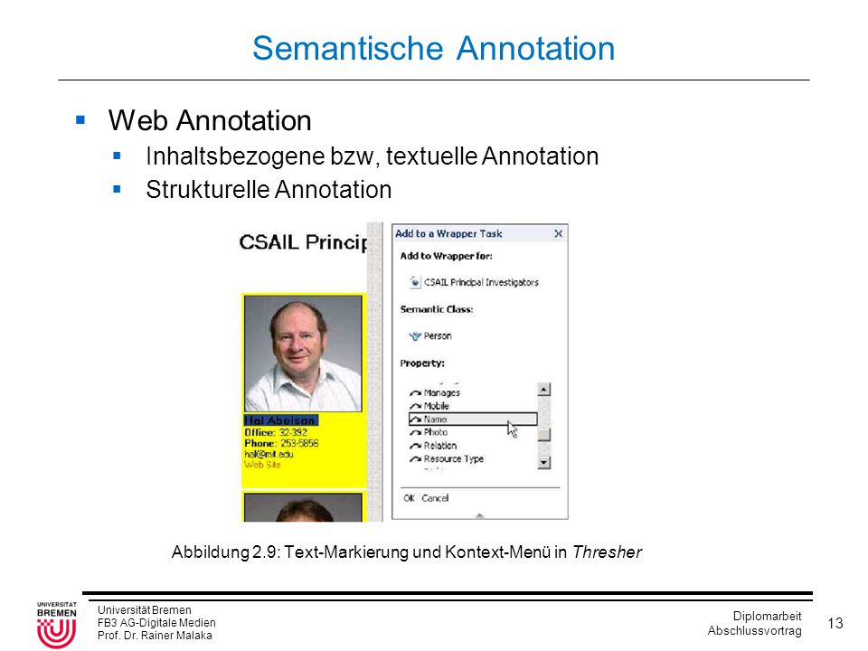 Semantische Annotation