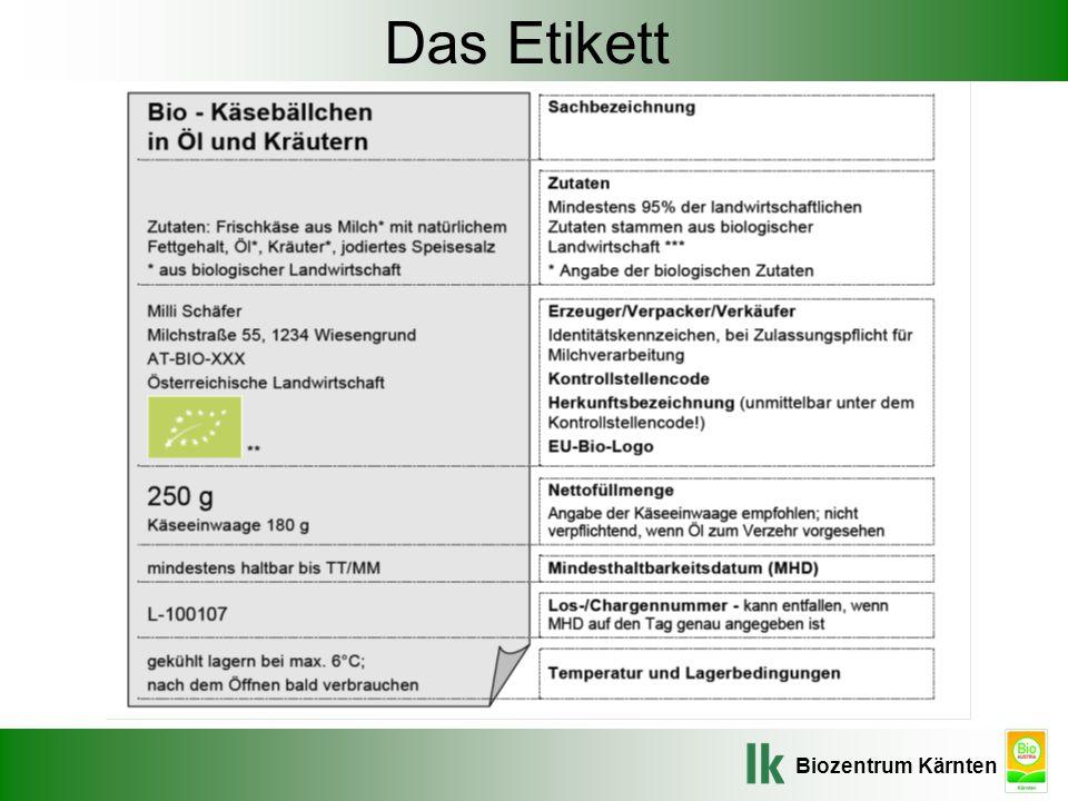etikettierung von biolebensmitteln und ppt video online