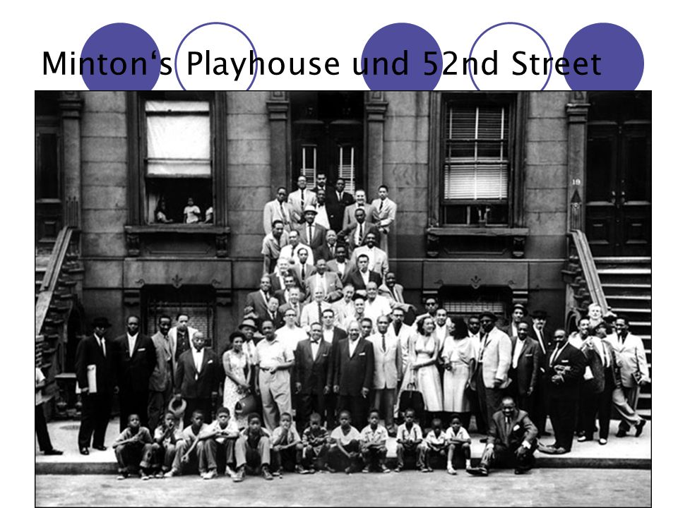 Minton's Playhouse und 52nd Street