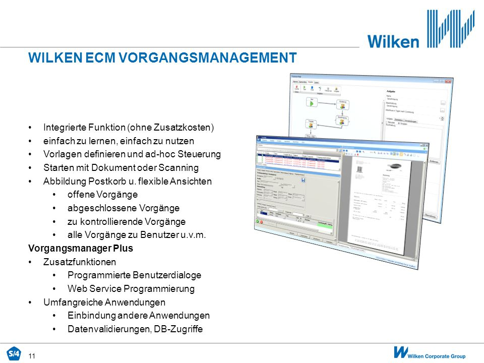 Wilken ecm vorgangsmanagement