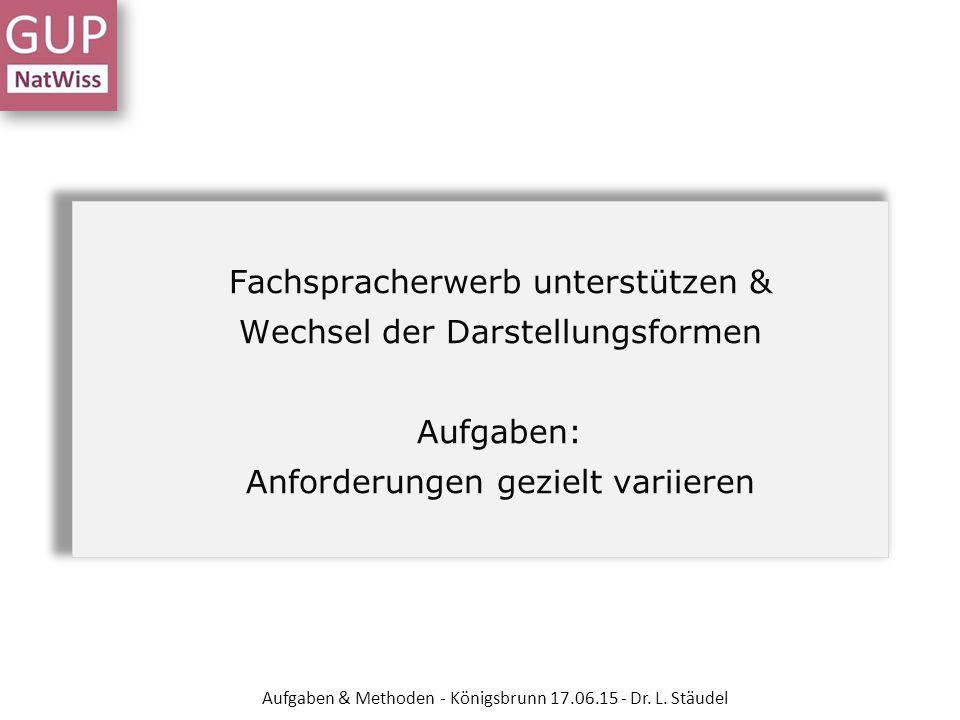 Dr. Lutz Stäudel, Leipzig - ppt herunterladen