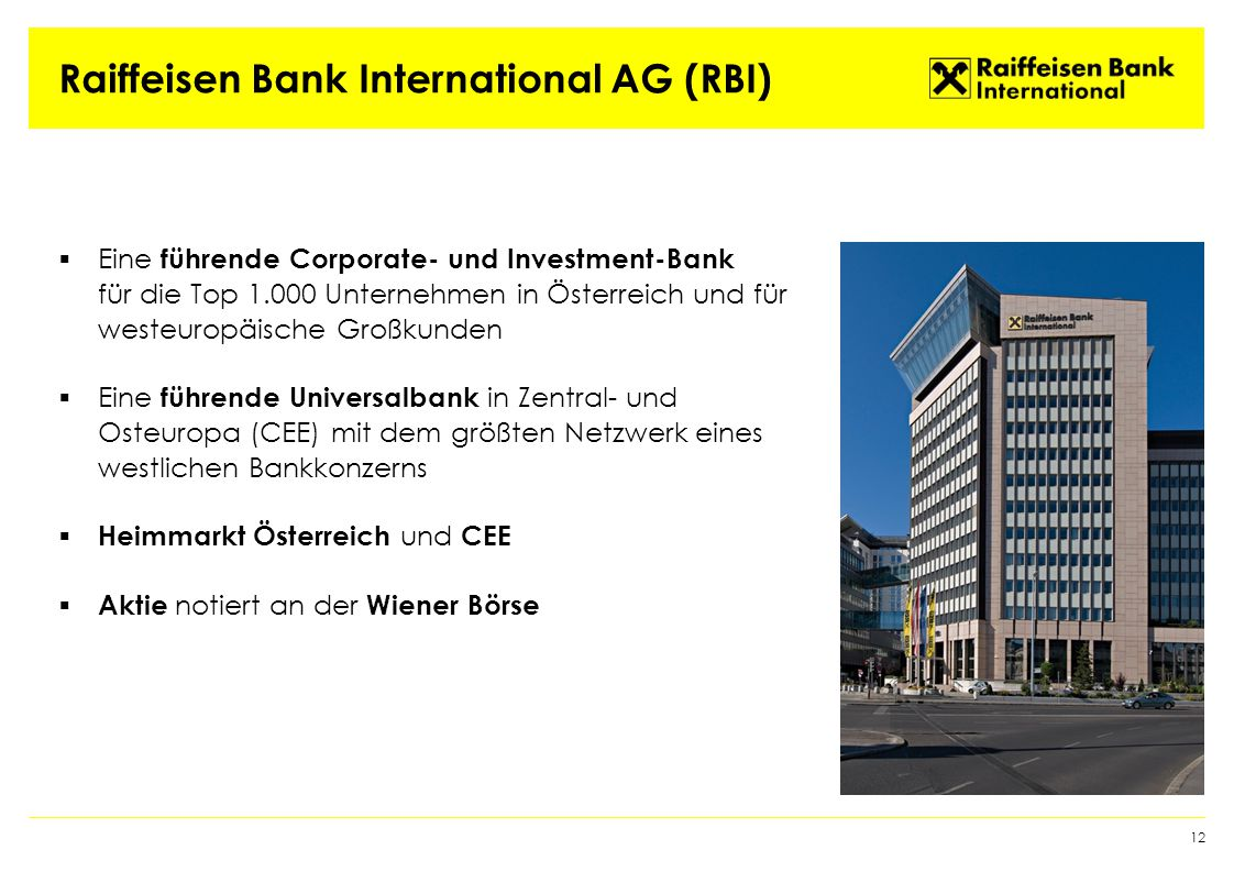 Raiffeisen Bank International AG (RBI)