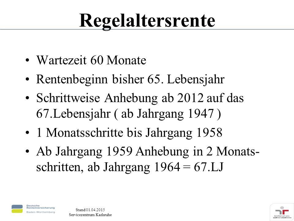 regelaltersrente jahrgang 1954