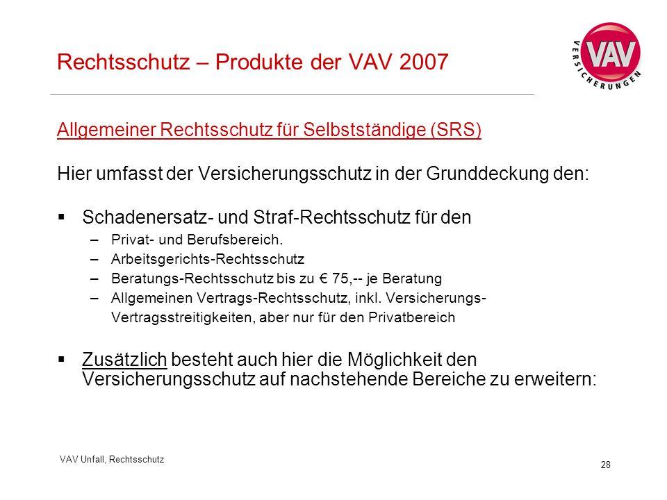 Herzlich Willkommen Rechtsschutz Produkte Der Vav Ppt Herunterladen